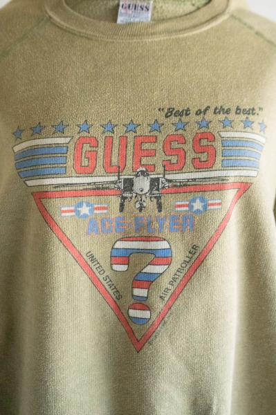 GUESS ACE FLYER Print Sweat
