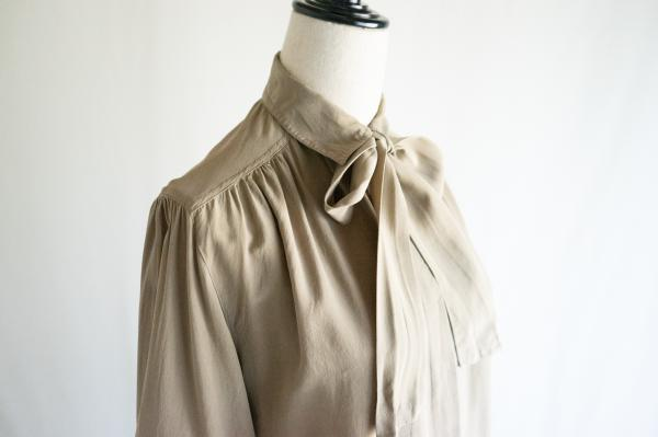 Made In Euro Nudie Bowtie Blouse