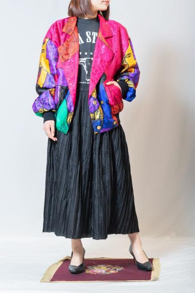Picasso Metallic Color Double Jacket