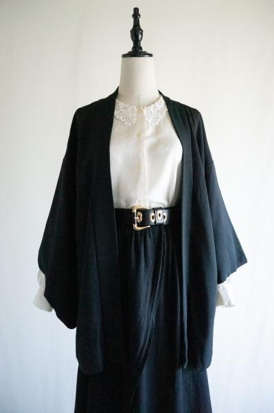 60's Black Japan Happi coat
