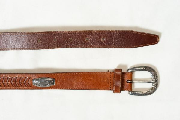 FOSSIL Concho Heather Belt