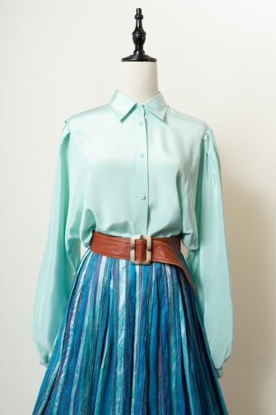 Made In Euro Mint green Blouse