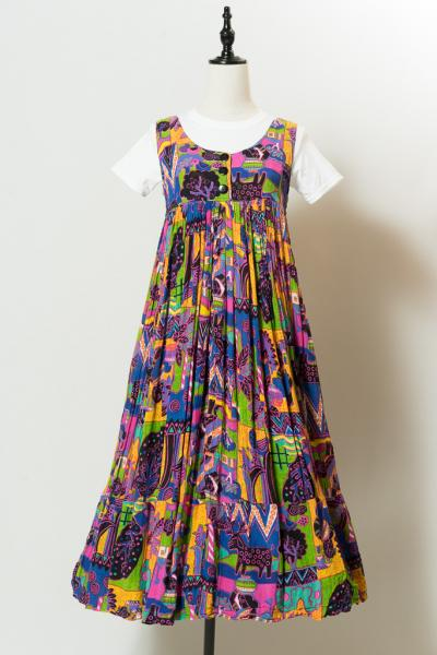Retro design Ethnic Dress