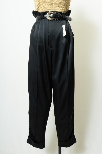 Made In Germany Spangles Design Black Pants