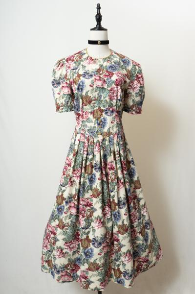 Real touch Mix flower Dress