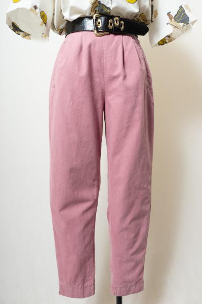 Made In Italy Smokey pink Cotton Pants