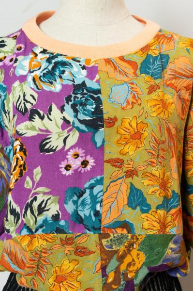 Flower Crazy Pattern Tops