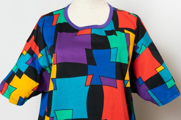 Made In Euro Colorful Design T-shirt