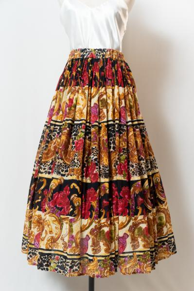 Ethnic Art Pattern Skirt