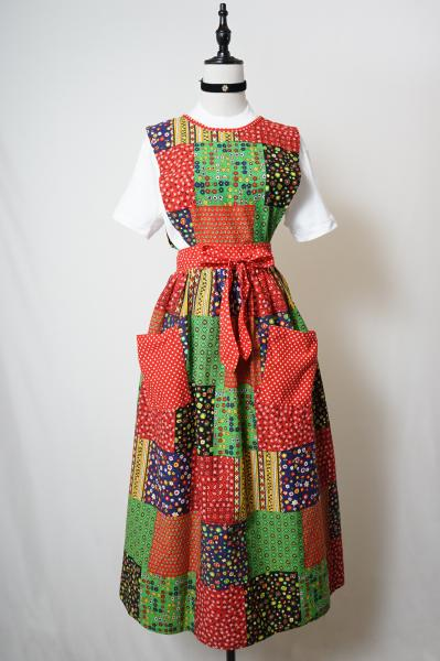 Made In Japan Patchwork  Apron Dress