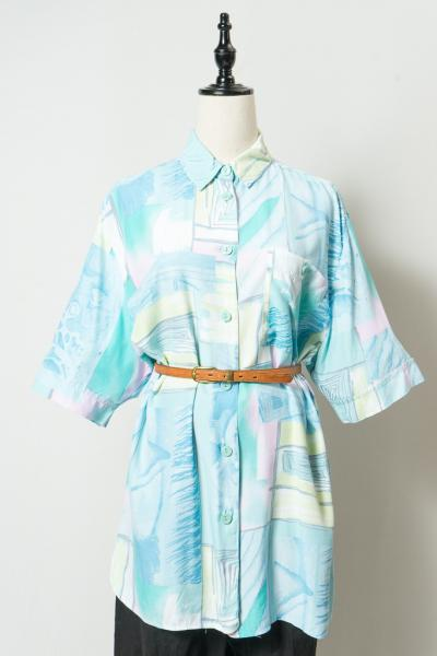 Pastel Art Pattern Blouse