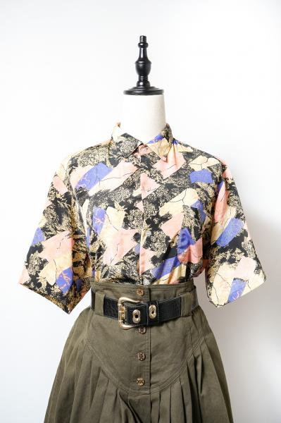 Oriental Art Pattern Blouse