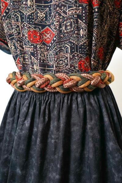 Multi Color Rope Belt