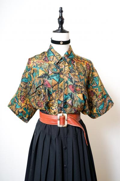 Ethnic Like Art Silk Blouse