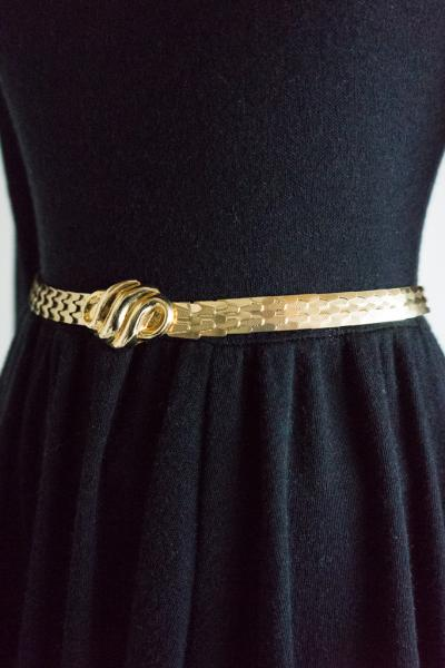 Gold Design Belt
