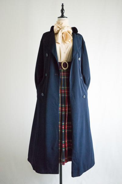 Basic Navy Trench Coat