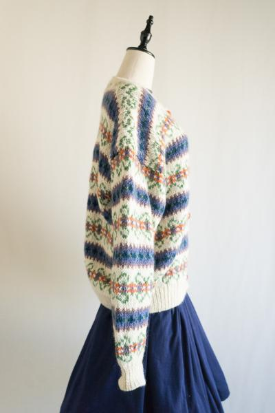 Flower motif Design Cardigan