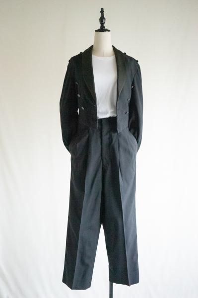 60's Jacket×Pants With suspenders Set up