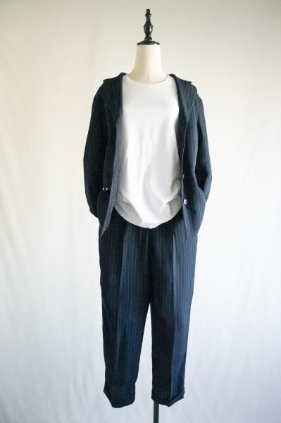 Stitch stripe Jacket×Pants Set up
