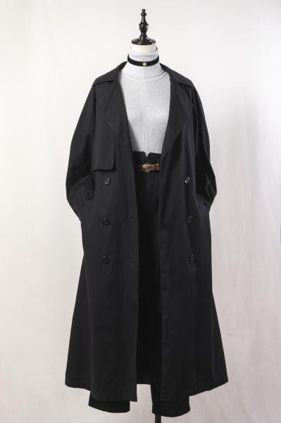 Black Over Trench Coat