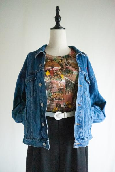 91's PLANET HOLLYWOOD Denim Jacket