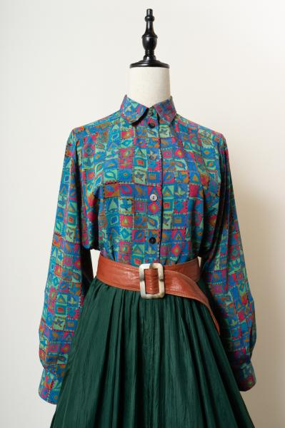 Made In Germany Cubic design Blouse