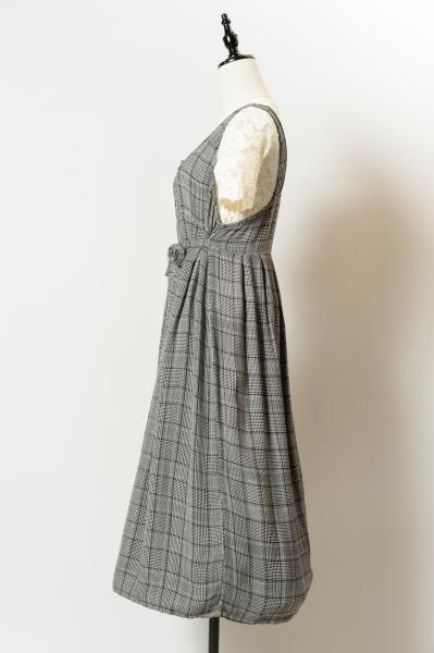 Design Block check Dress