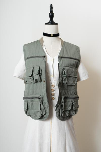 Mesh Design Fishing Vest