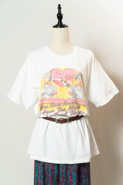 Lucy's Chocolate Factory Print T-shirt