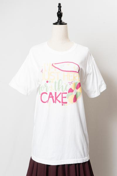 I'm Just Here for the CAKE Print T-sh