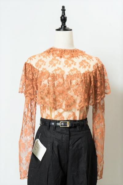 Frill Design All Lace Tops