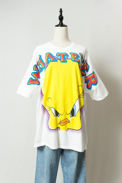 Tweety Bird Big Print T-sh
