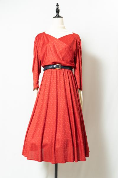 EuroRing Dot Cache-coeur Red Dress