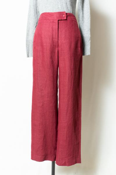 Smoky Pink Linen Pants