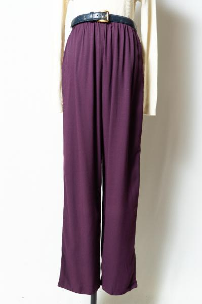 Dark purple Easy Pants
