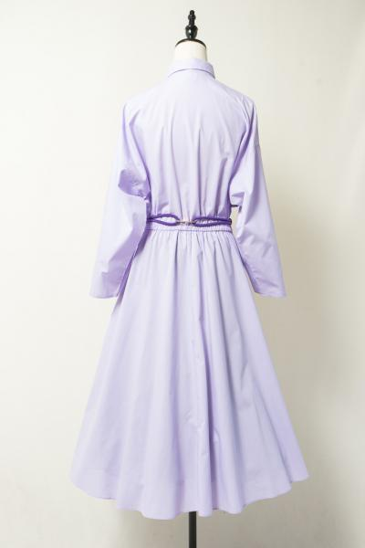 Pastel purple Shirt Dress