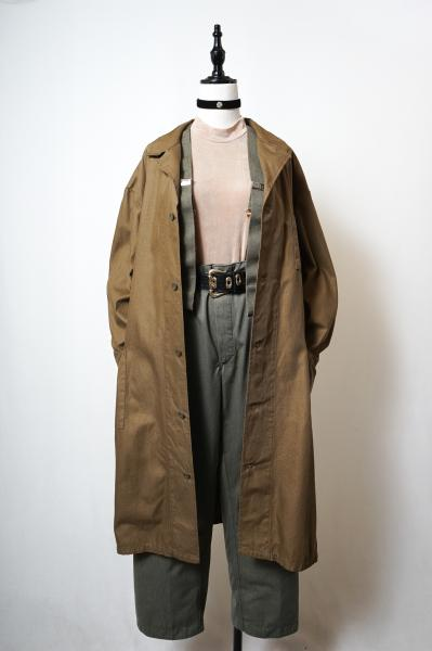 Czech Army Brown Work Coat