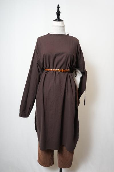 60's Swedish Army Medical Dress(Brown)