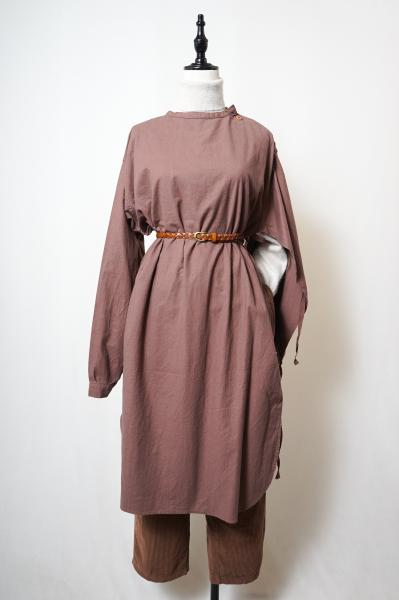 60's Swedish Army Medical Dress(P-brown)