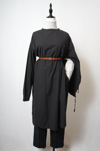 60's Swedish Army Medical Dress(Black)