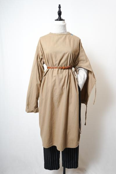60's Swedish Army Medical Dress(Beige)