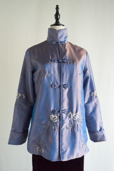 Flower Embroidery China Jacket