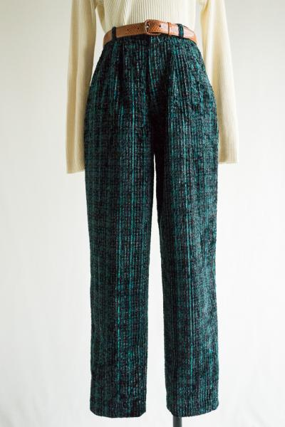 Made In W.Germany Marble Corduroy Pants