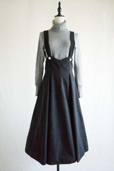 50's Black Jumper Skirt