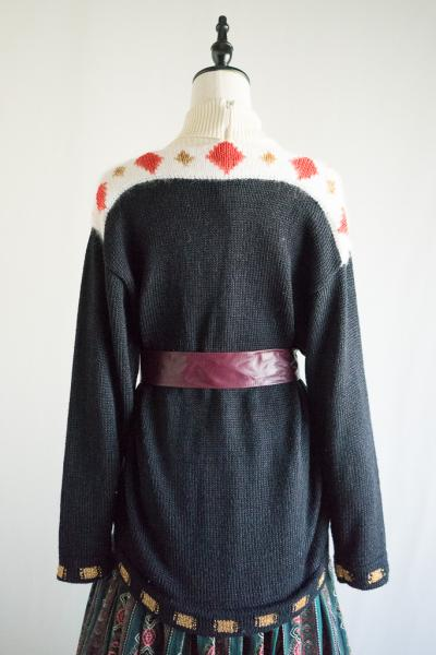 Made In Euro CAT design Long Sweater
