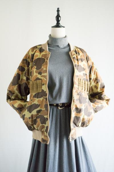 80's Columbia Camouflage Reversible Jacket