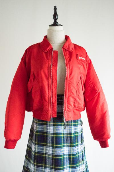 95's Schott CWU-R FLIGHT Red Jacket