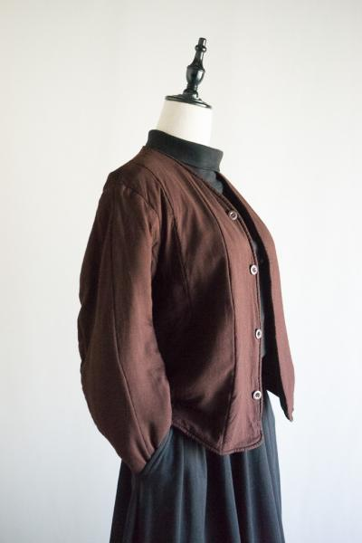 60's Dead stock Czech army Brown Liner Jacket