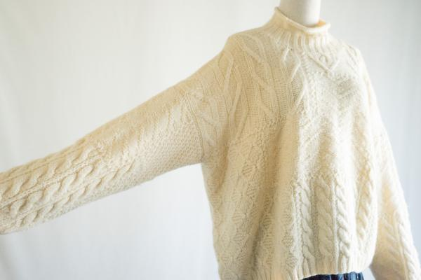 Laura ashley Wool Hineck Sweater