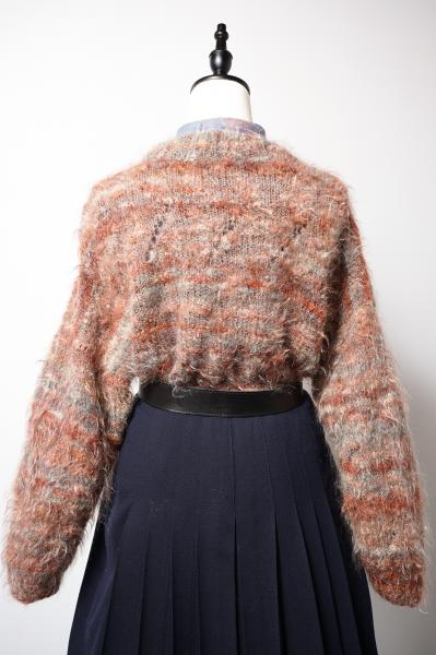 Jupyter Colour Boarder Mohair Sweater